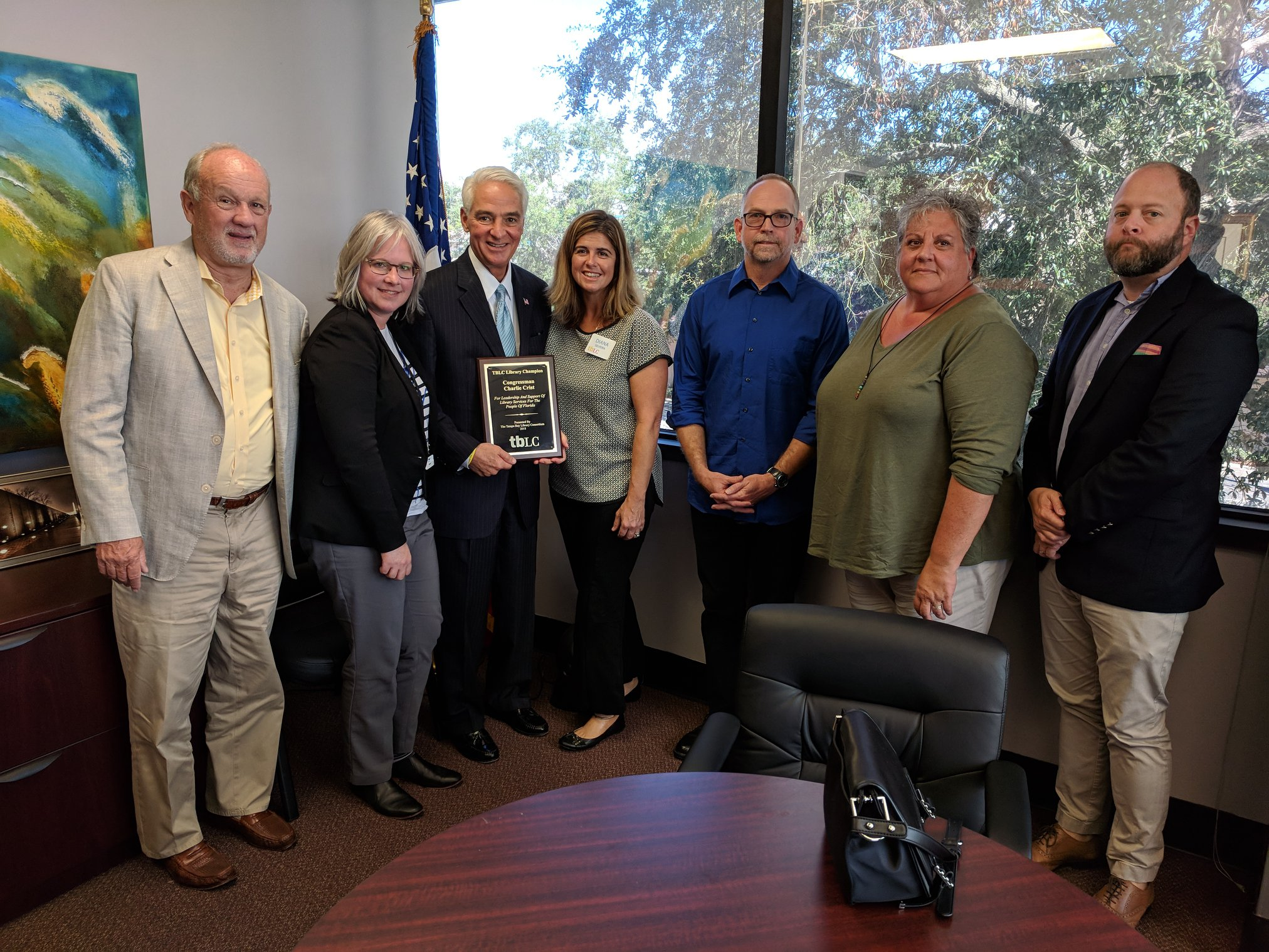 TBLC 2018 Library Champion Awards: Charlie Crist